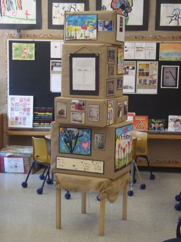 Moveable documentation - love this! Another great Reggio FDK blog (and a good cheap adaptable display idea for library products or features).