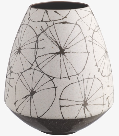 print  pattern ceramic pot