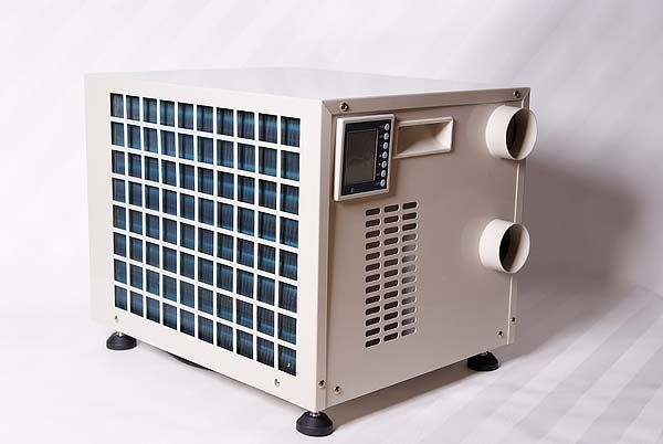 Climate Rite Air Conditioner - The CR-7000 model suits tiny houses, sheds, man caves, etc. due to its btu power (7000/7500 btu) vs. the CR-2500 being 1800/2500. Do you need one for your tiny home? Click through for Coupon Code (benefits Tiny House Blog).