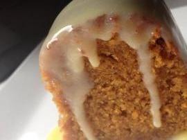 Sweet Potato Caramel Mud Cake
