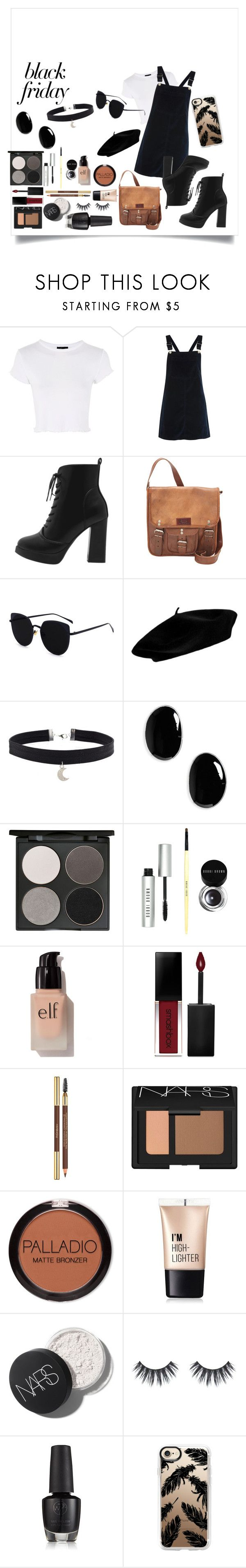 """""""Eclipse"""" by fruitsalad865 ❤ liked on Polyvore featuring Topshop, SHARO, Sophie Buhai, Gorgeous Cosmetics, Bobbi Brown Cosmetics, e.l.f., Smashbox, Yves Saint Laurent, NARS Cosmetics and Charlotte Russe"""