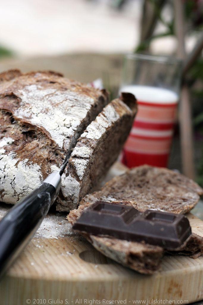 Cocoa No Knead Bread