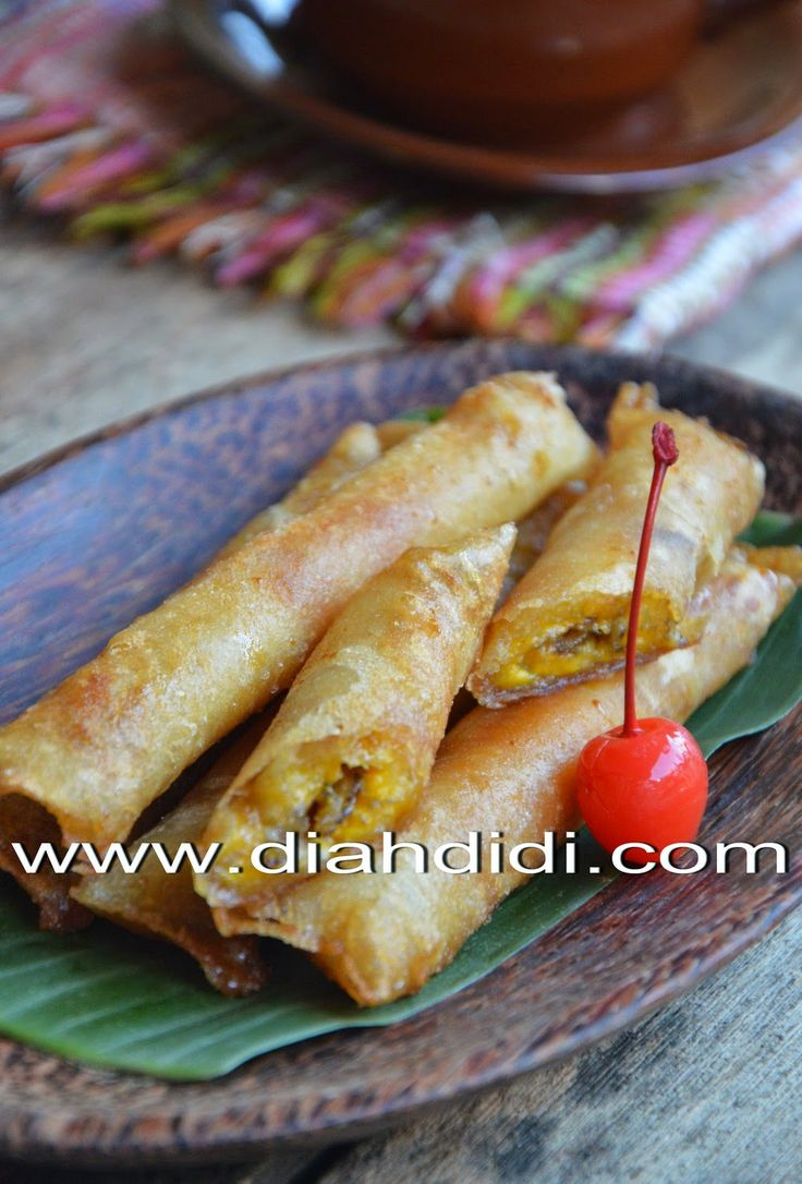 Diah Didi's Kitchen: Pisang Aroma Gula Merah