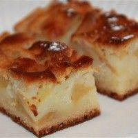 Gâteau moelleux aux pommes sans oeufs