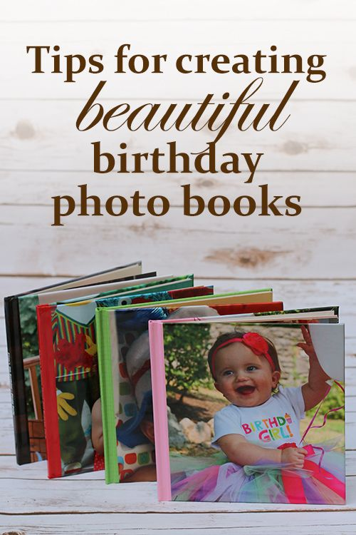 Here are tips for creating beautiful birthday photo books by Jessica. We love how these pages turned out.