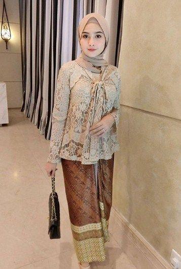Kebaya Muslim Modern 2018 Model Baju Muslimah Batik Terbaru 2018
