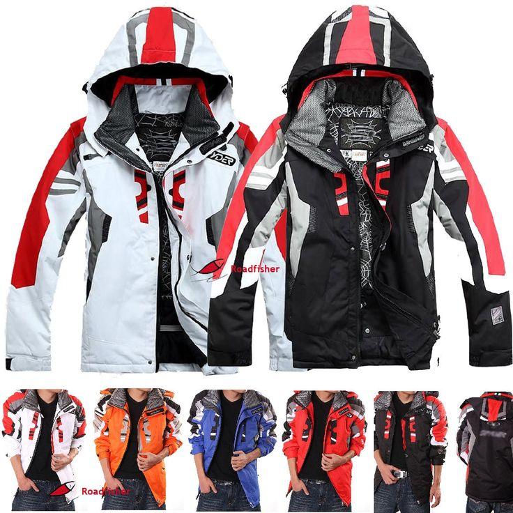 Mens Winter Waterproof Outdoor Coat Ski Suit Jacket snowboard Clothing Warm Hot