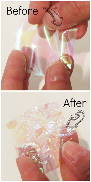 Use opal gift wrap plastic mylar paper to imitate dichroic glass in blank pendant trays - Tutorial on click through for resin and adding images to the tray.