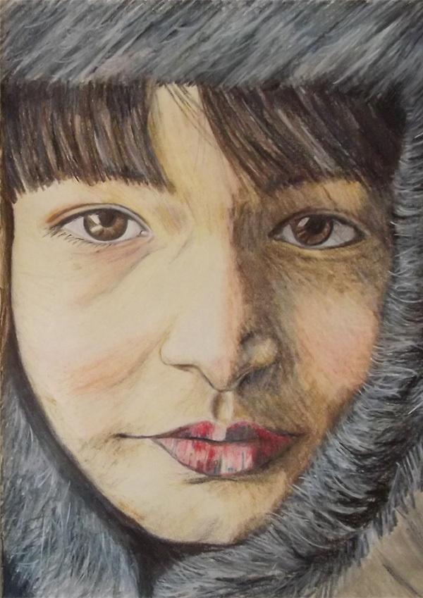 Recent Portraits by Sarah Whittle, via Behance