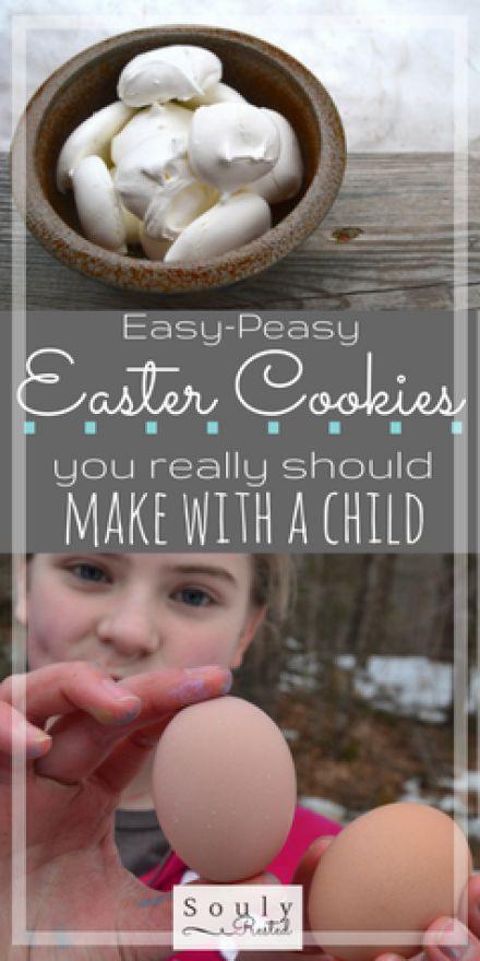 Easter cookies | Resurrection Cookies | meringue cookies | egg white cookies | Easter traditions for families | Easter traditions for kids of all ages | Easter traditions my teens love