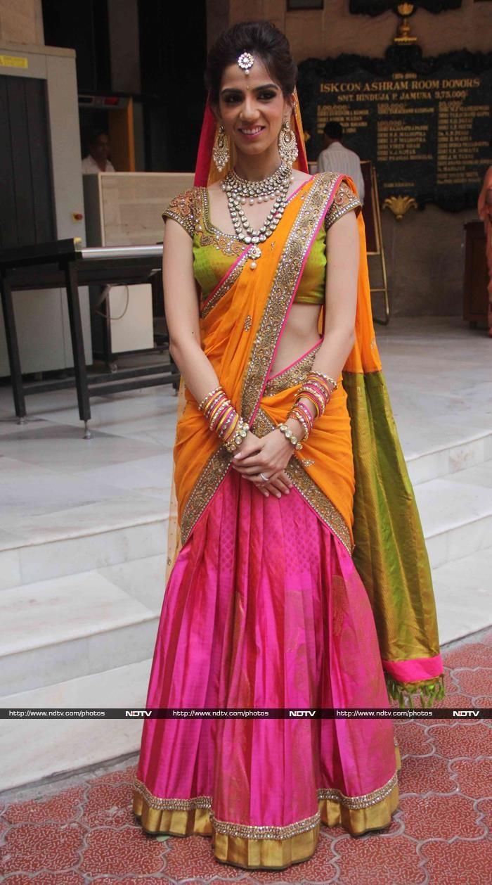 Hema Malini, Aishwarya's Parents Attend Nishka Lulla's Wedding