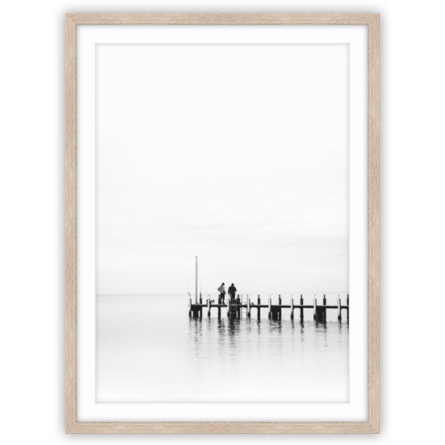 Sunrise Jetty Photo by Elemental Prints | Interior Wall Art. www.elementalprints.com.au