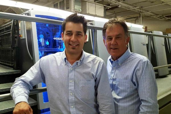 Peter and Parry Nitchos join sales force of Toronto-based C.J. Graphics Inc. (PrintAction 27 June 2017)