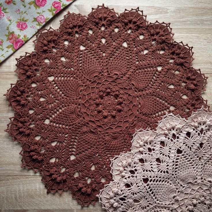 Beautiful crochet doily