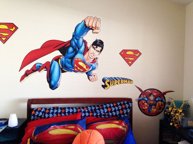 the 25+ best superman bedroom ideas on pinterest | superman room