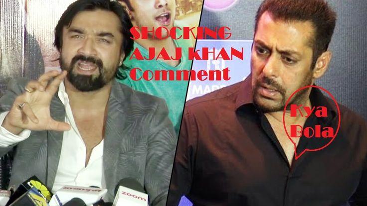 Ajaz Khan INSULTIING COMMENT on Salman khan and Karan Johar On Pakistani...