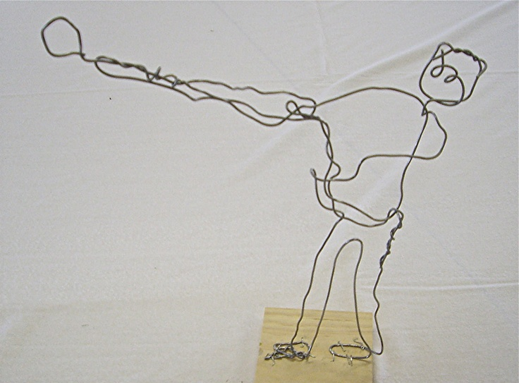 Contour Line Drawing With Wire : Best calder for kids images on pinterest art