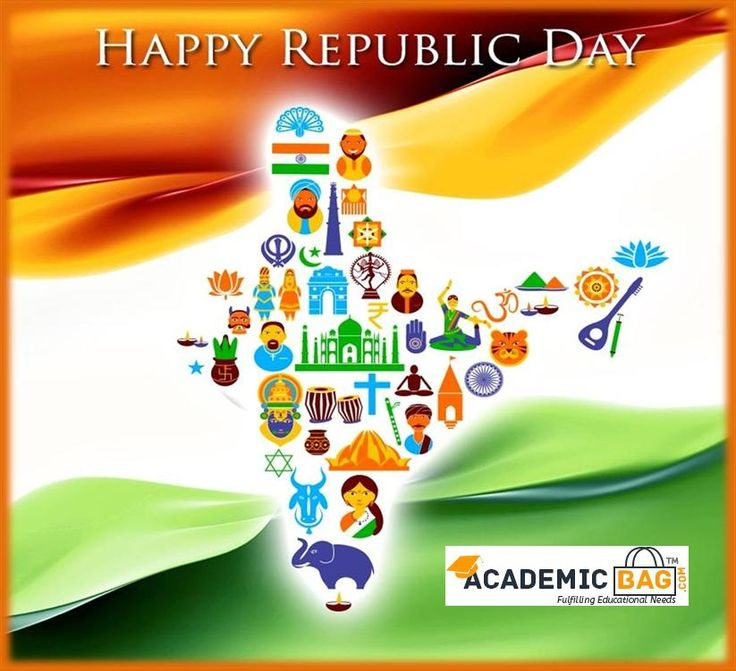 Happy 68th Republic Day to all!!! #academicbag #republicday