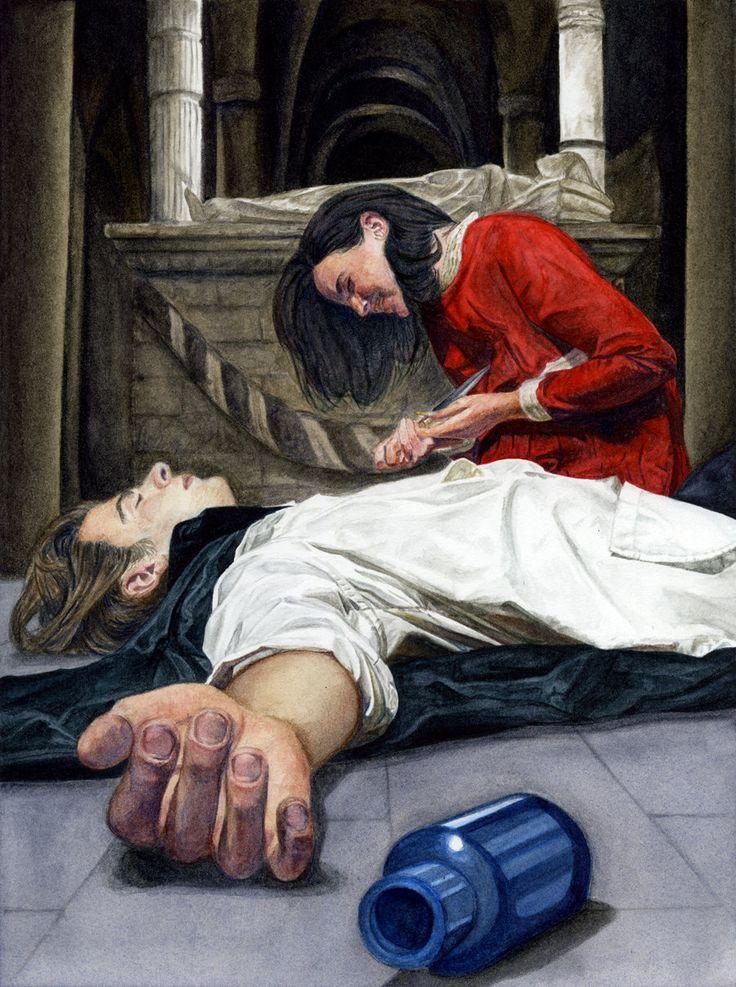 Картинка как умирает ромео