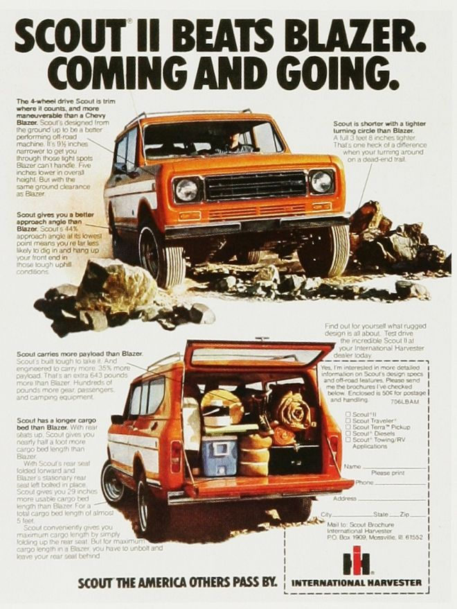 International Harvester Scout II                                                                                                                                                                                 More