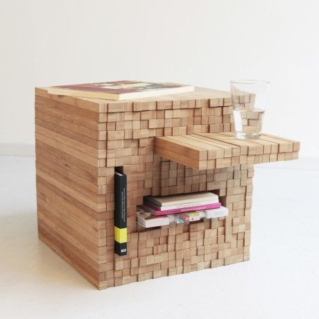 Pixel's coffee table