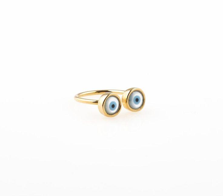 Turkish eye ring by Jill Jill 8-)