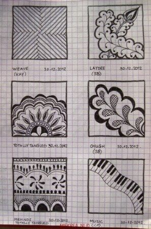 13 Patterns drawn by Miekrea NL -  designed by Others