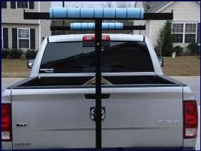 Build a kayak rack for your truck - Columbia Fishing | Examiner.com