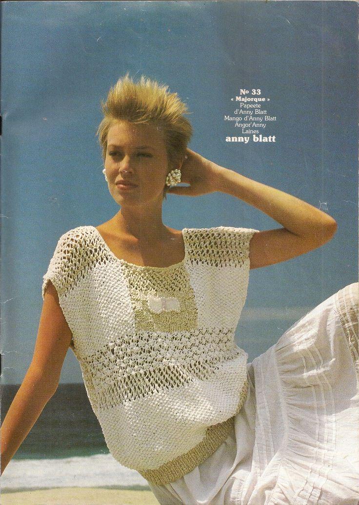 MAGAZINE ANNY BLATT N°64 tricot plein-été : Autres Tricot et Crochet par…