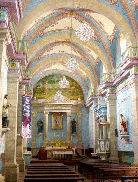 """Inside San Sebastian church. 1 and 1/2 hr. drive from Puerto Vallarta. What a wonderful old """"mining town"""" to visit."""