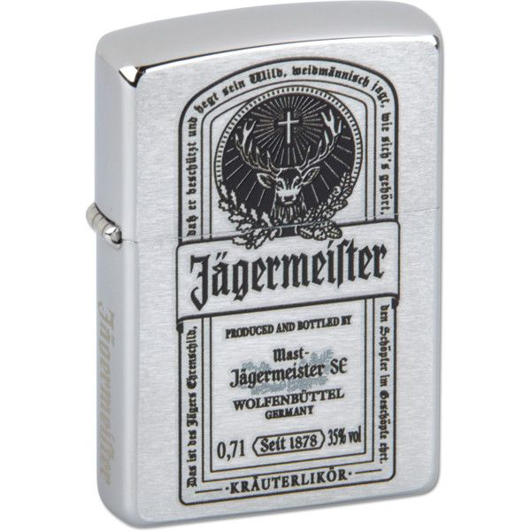 Zippo lighter Jägermeister Shop found on Polyvore