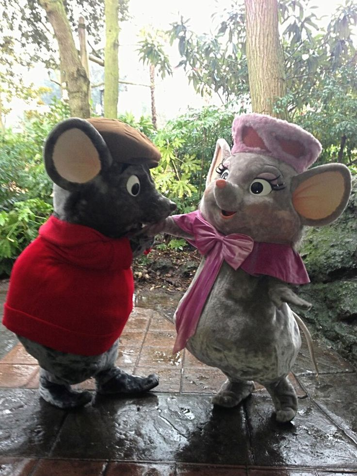#Bernard #Bianca Valentine's Day at Disneyland Paris (Photo: @DisneyMoi)
