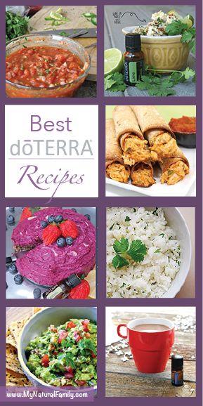 Best doTERRA Recipes - MyNaturalFamily.com #doterra #recipes