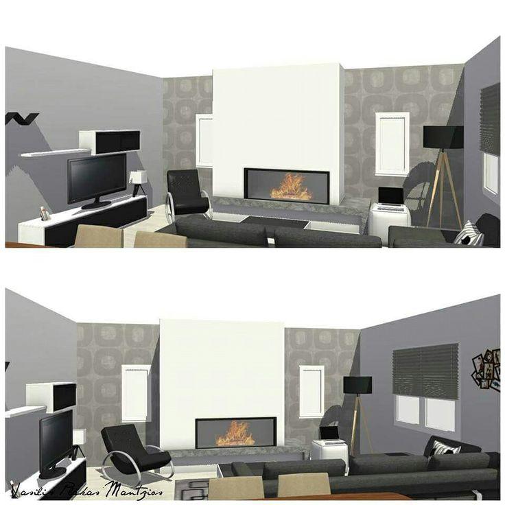 #interior #design #modern #livingroom