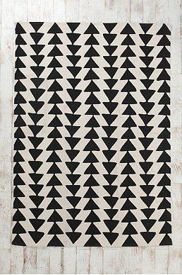 Magical Thinking Triangle Chain Rug on sale until 7/29 for $69 (5x7')