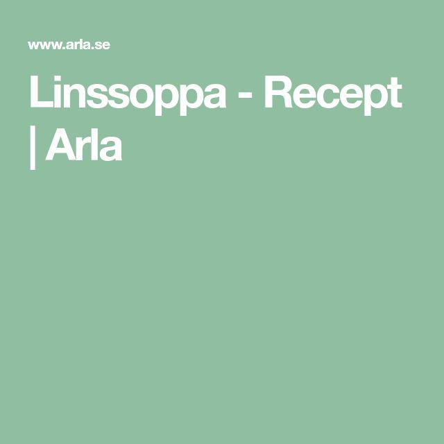 Linssoppa - Recept   Arla