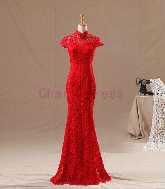 Chinese wedding dress uk cheap