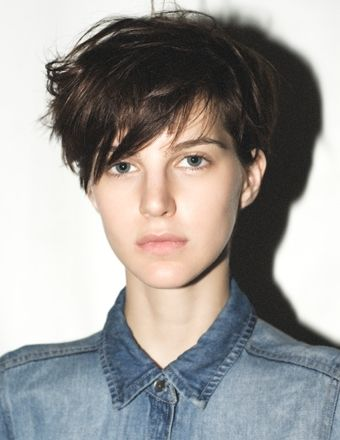 This is my DREAM haircut! I want to do this so bad! I like the this so much because you can be edgy or classic with this haircut!