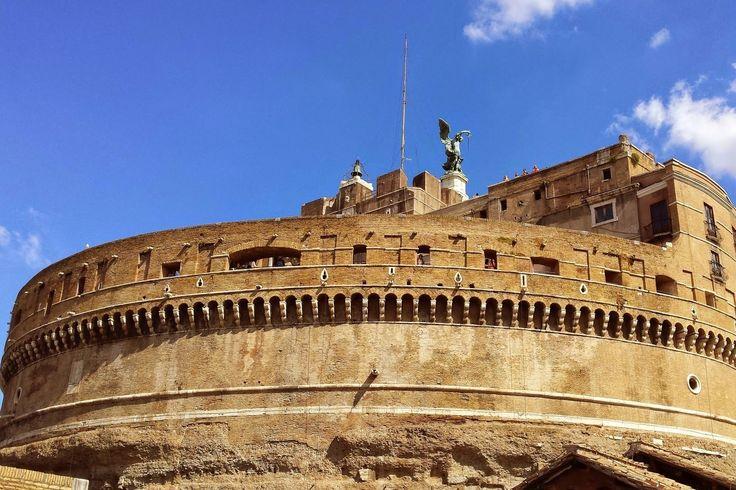 Castel Sant'Angelo (Engelsburg) - Rom Citytrip - Blog - September 2014 - P A S T E L P I X
