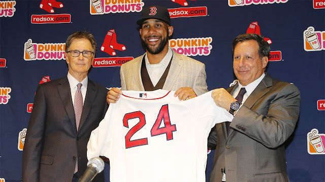 Luce bastante completo el roster de los Medias Rojas de Boston para el 2016