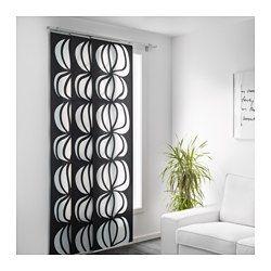 IKEA - ULLASTINA, Panneau, Les panneaux-rideaux sont idéaux pour créer des agencements à superposition pour habiller une fenêtre, pour diviser une pièce ou pour servir de porte d'une armoire-penderie.Peut aussi servir de chemin de table.Lavable en machine.