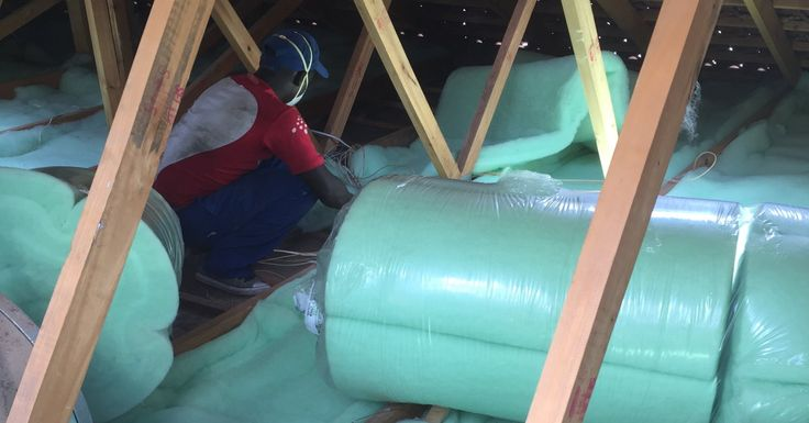 Isotherm going into a roof.