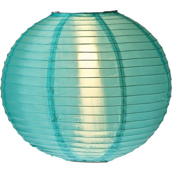 Teal 14 Inch Outdoor Nylon Lanterns 11 Liked On Polyvore Featuring Home