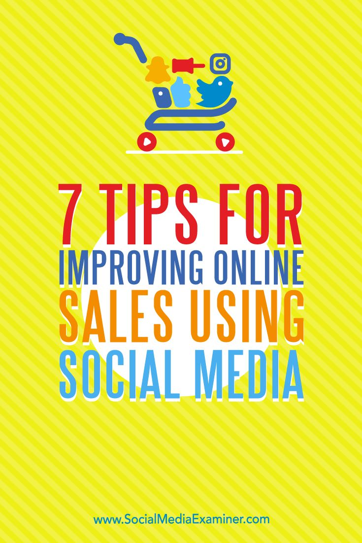 Want to improve your online sales process?  With the right plan, you can enhance people's social media experience and generate more sales. Via @smexaminer.