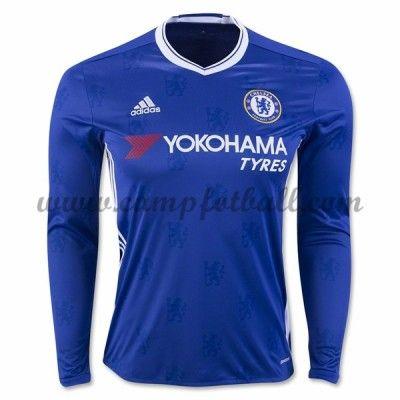 Chelsea Fotballdrakter 2016-17 Hjemmedrakt Langermet