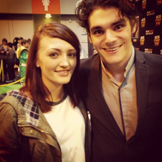Yes I met RJ Mitte better known as Walter Junior from the amazing TV show called Breaking Bad. I was lucky enough to meet him at Birmingham's MCM Comic Con in November 2014.
