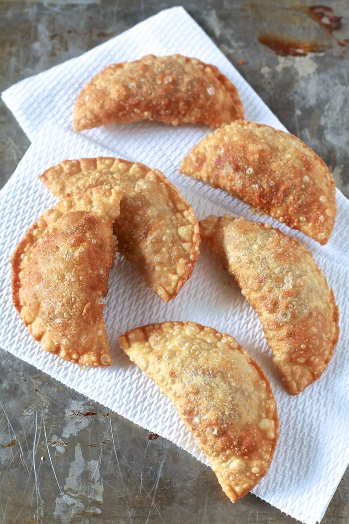 Pastelillos de Carne (Puerto Rican Meat Turnovers)