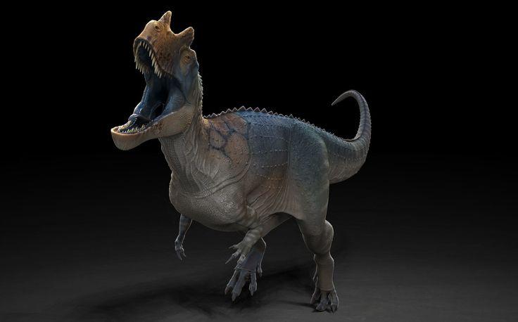 CGSociety Sculpting The Perfect Digital Dino, Raul Ramos on ArtStation at https://www.artstation.com/artwork/ZWkE1