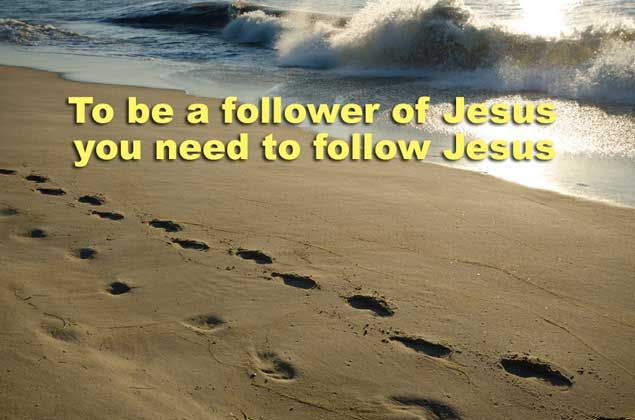 """As Jesus went on from there, He saw a man named Matthew sitting at the tax office, and He said to him, """"Follow Me!"""" So he got up and followed Him. Matthew 9:9 HCSB"""