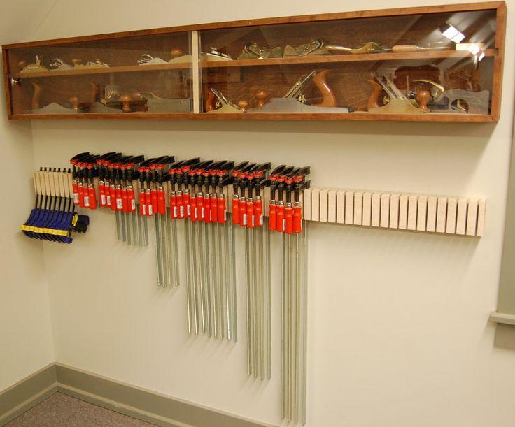Garage Wood Storage Organization